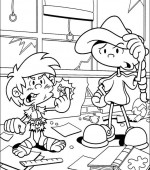 coloriage Nom de code  KIDS NEXT DOOR 003