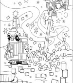 coloriage Nom de code  KIDS NEXT DOOR 007