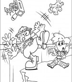coloriage Nom de code  KIDS NEXT DOOR 013