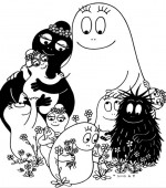 coloriage barbapapa 005