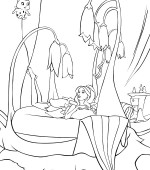 coloriage barbie fairytopia 019