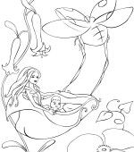 coloriage barbie fairytopia 020