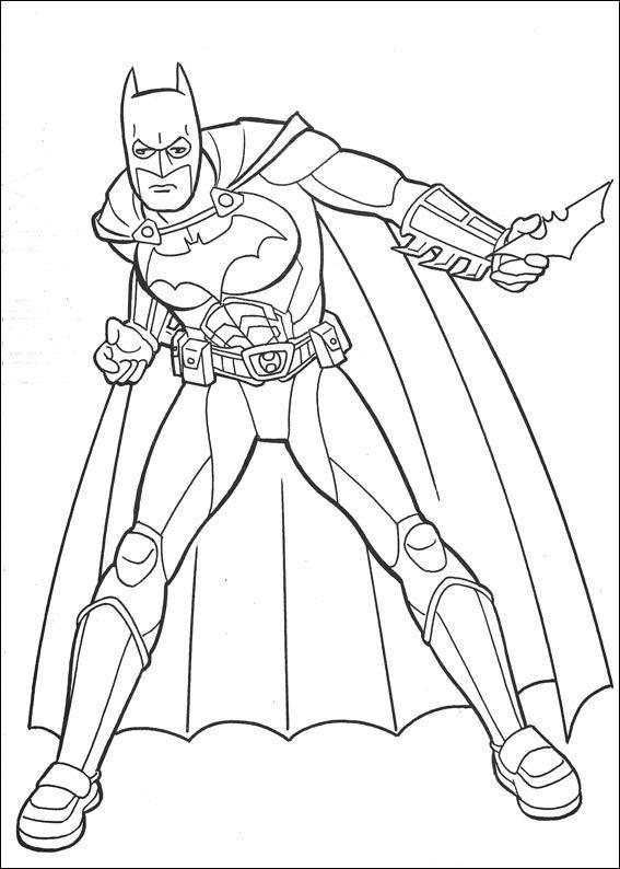 Kleurplaten Van Batman Robin.Index Of Coloriages Heros Tv Batman