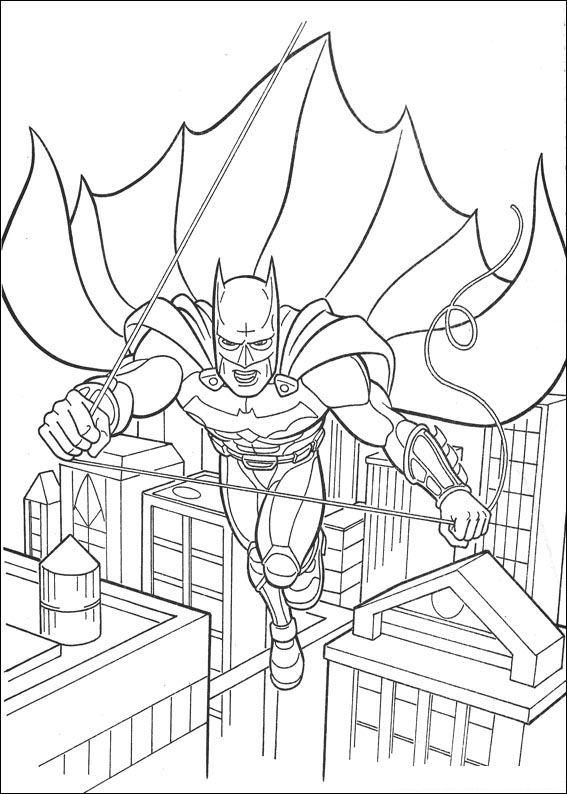 Kleurplaten Batman 3.Index Of Coloriages Heros Tv Batman