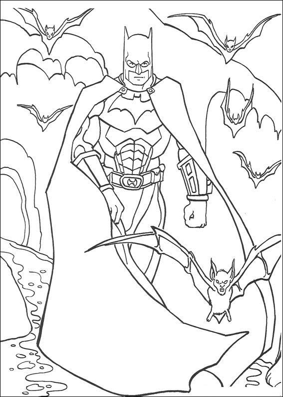Index Of Coloriages Heros Tv Batman