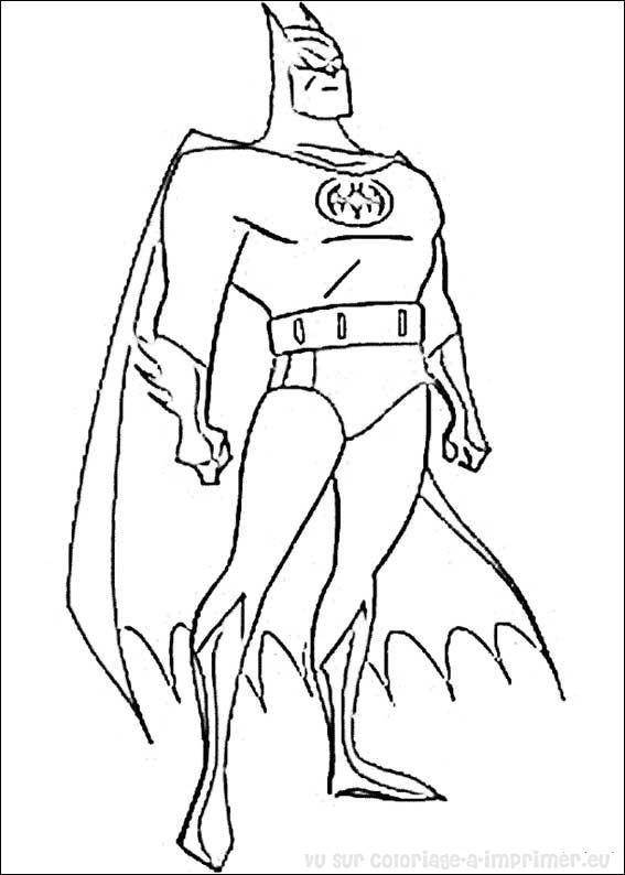 ... coloriage-a-imprimer.eu > batman > coloriage de coloriage batman 016