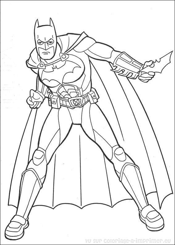 Coloriage imprimer coloriage batman 039 - Coloriage a imprimer batman ...