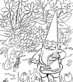 coloriage david le gnome 001