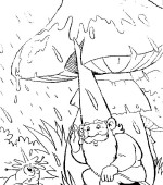 coloriage david le gnome 003