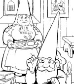 coloriage david le gnome 008