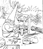 coloriage david le gnome 014