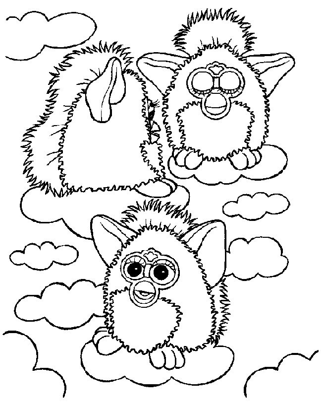 Gratis Kleurplaten Furby.Index Of Coloriages Heros Tv Furby