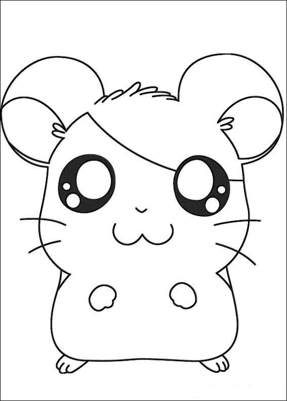 Index Of Coloriages Heros Tv Hamtaro Petits Hamsters