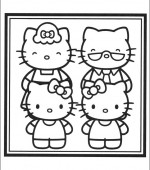 coloriage hello kitty 003