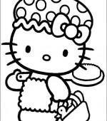 Coloriage hello kitty gratuit a imprimer - Coloriage hello kitty princesse ...