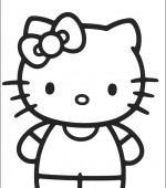 coloriage hello kitty 019