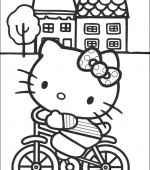 coloriage hello kitty 029