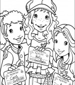 coloriage holly hobbie 002