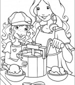 coloriage holly hobbie 014