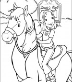 coloriage holly hobbie 019