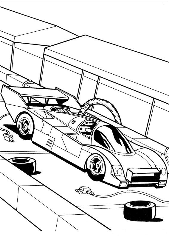 Index Of Coloriages Heros Tv Hot Wheels