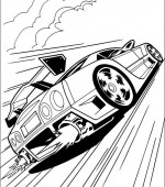coloriage hot wheels 022