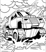 coloriage hot wheels 032