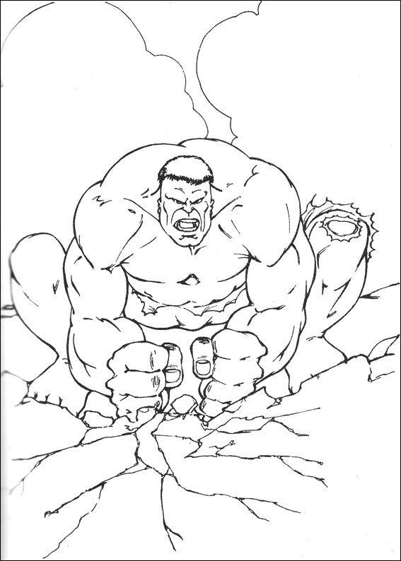 Index Of Coloriages Heros Tv Hulk