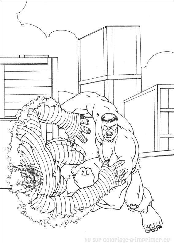 Coloriage imprimer coloriage hulk 011 - Hulk a imprimer ...
