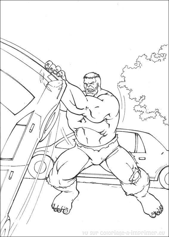 Coloriage imprimer coloriage hulk 012 - Hulk a imprimer ...