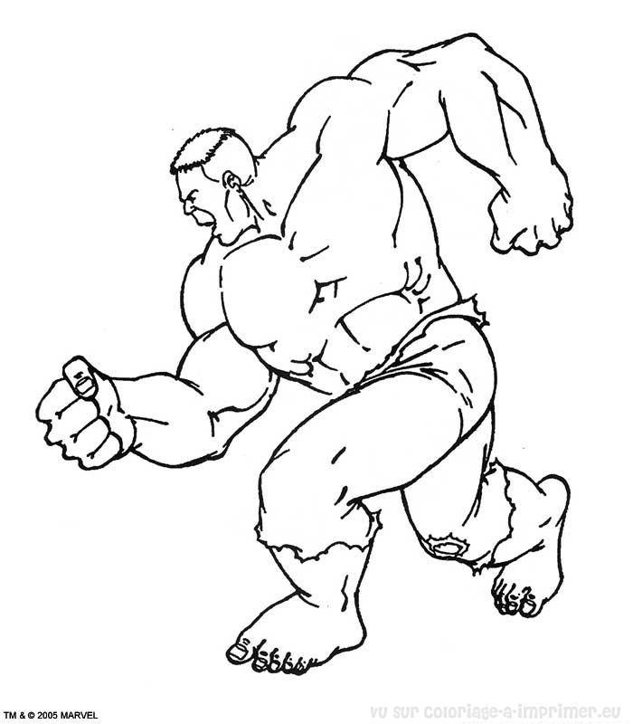 Coloriage imprimer coloriage hulk 032 - Hulk a imprimer ...