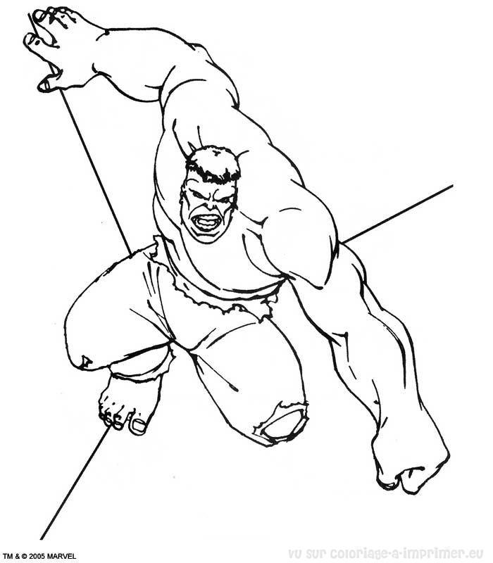 Coloriage imprimer coloriage hulk 052 - Hulk a imprimer ...