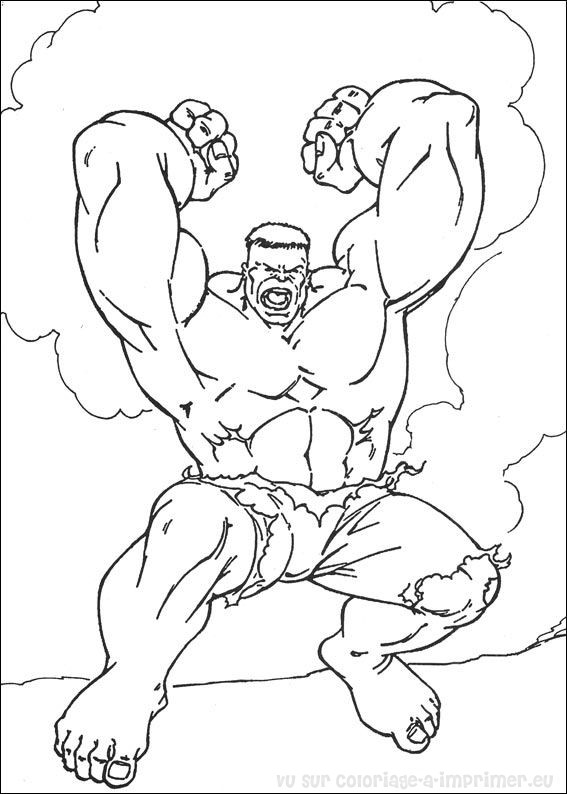 Coloriage imprimer coloriage hulk 074 - Hulk a imprimer ...