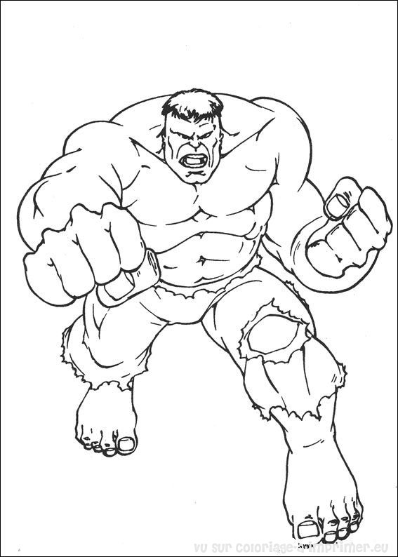 Coloriage imprimer coloriage hulk 076 - Hulk a imprimer ...