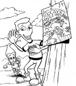coloriage jimmy-neutron 029