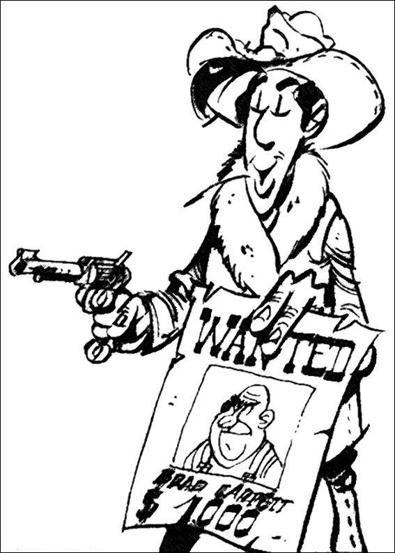 Index Of Coloriages Heros Tv Lucky Luke