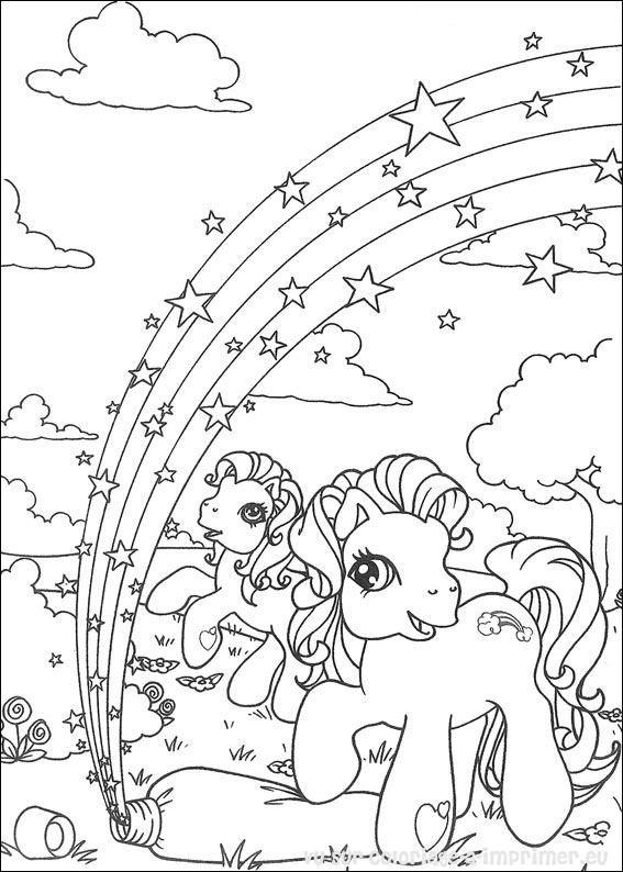 Coloriage à Imprimer Coloriage Mon Petit Poney 068