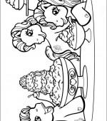 Coloriage mon petit poney gratuit a imprimer - Coloriage poney en ligne ...