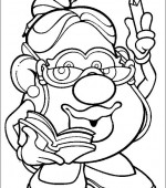 coloriage mr potato head 002