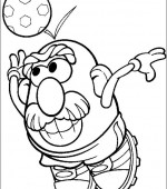 coloriage mr potato head 004