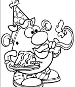 coloriage mr potato head 010