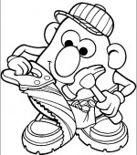 coloriage mr potato head 011
