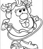 coloriage mr potato head 014