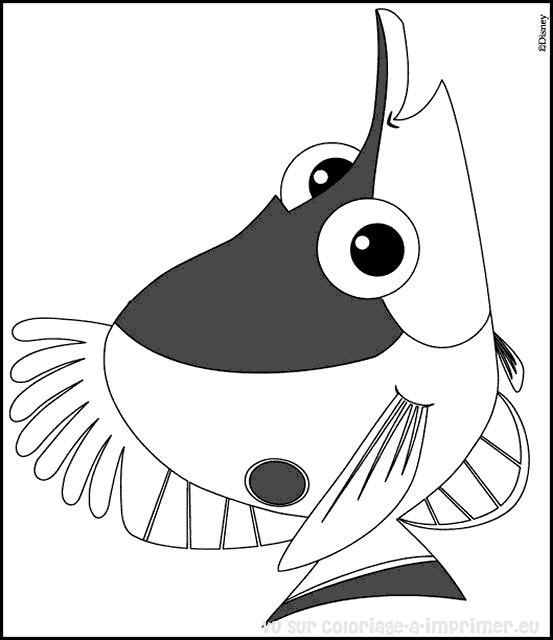 Coloriage Imprimer Nemo