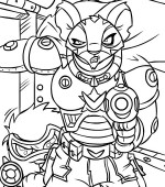 coloriage neopets-lune-espace 004