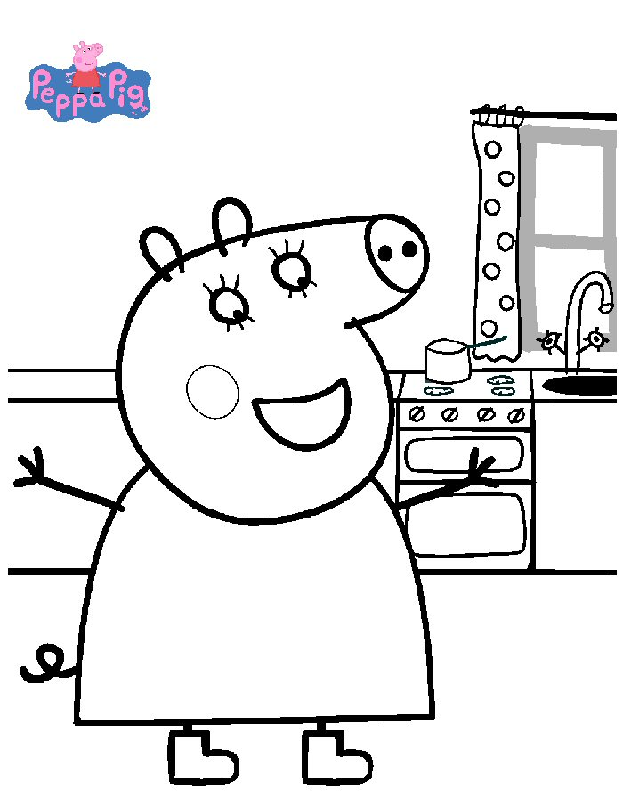 Index of coloriages heros tv peppa pig - Coloriage peppa pig ...
