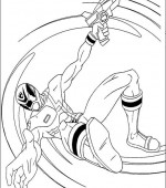 coloriage power ranger 031