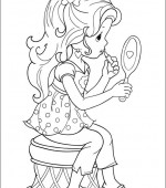coloriage precious moments 004
