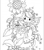 coloriage precious moments 013