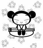 coloriage pucca 003